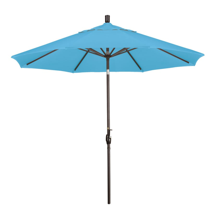 Phat Tommy Outdoor Oasis Capri Market Patio Umbrella (Common: 9-ft W x 9-ft L; Actual: 9-ft W x 9-ft L)