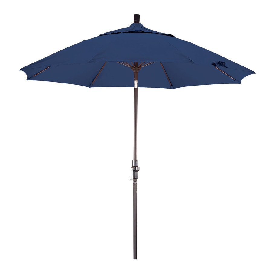Phat Tommy Outdoor Oasis Sapphire Market Patio Umbrella (Common: 9-ft W x 9-ft L; Actual: 9-ft W x 9-ft L)