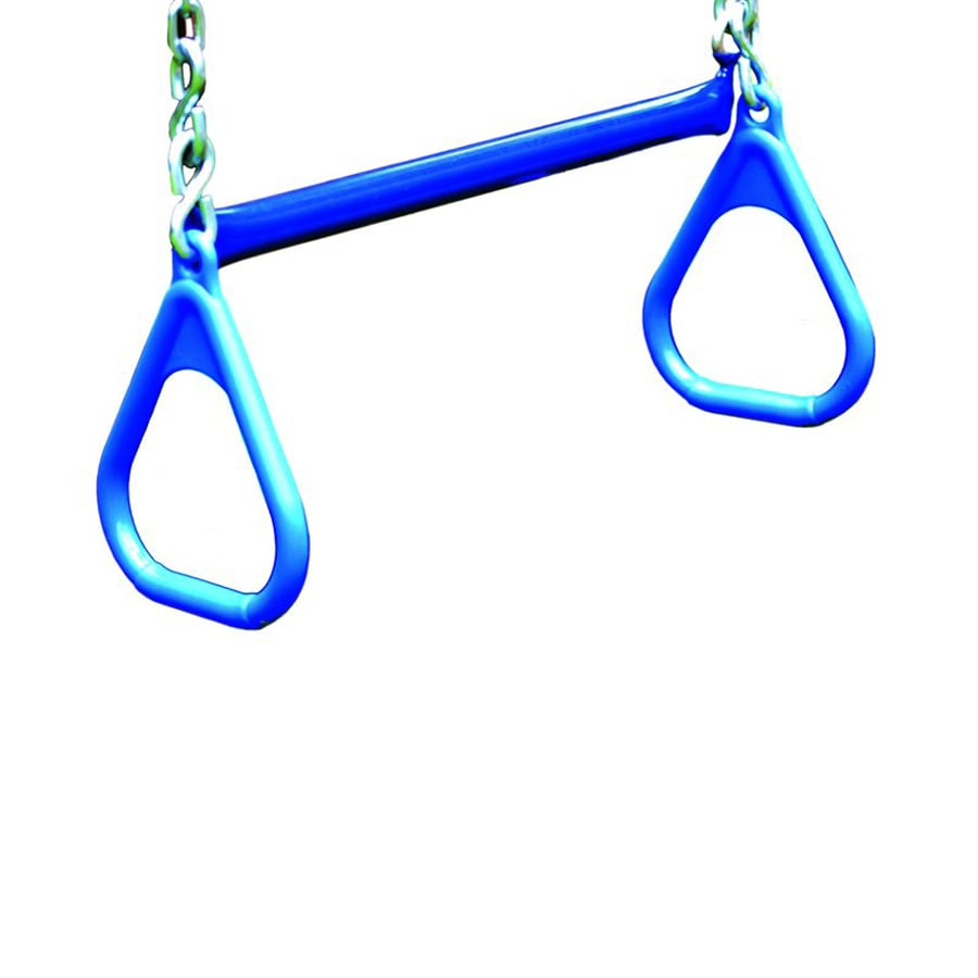 Gorilla Playsets Blue Ring/Trapeze Combo