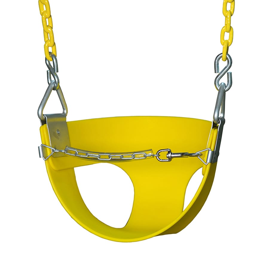 Gorilla Playsets Toddler Yellow Swing