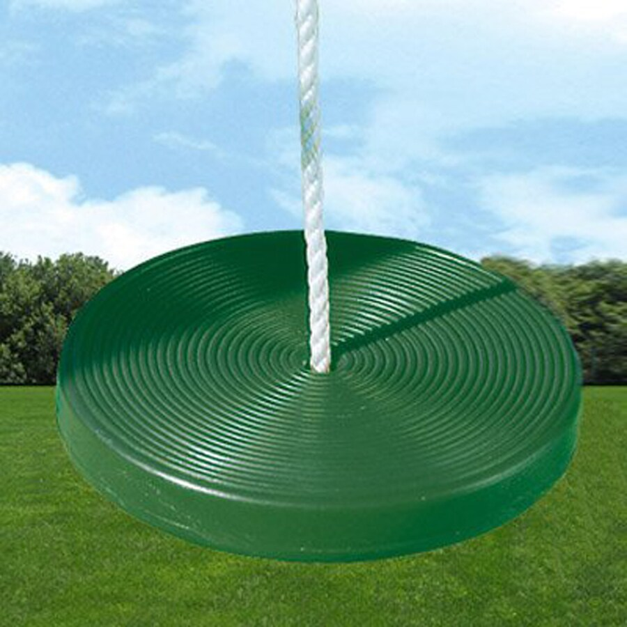 Creative Playthings Green Disc Swing