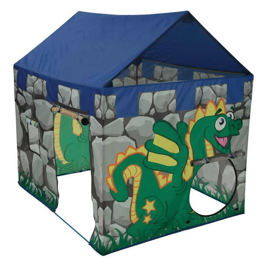 Shop pacific play tents dragon lair tent plastic playhouse for Pvc playhouse kit