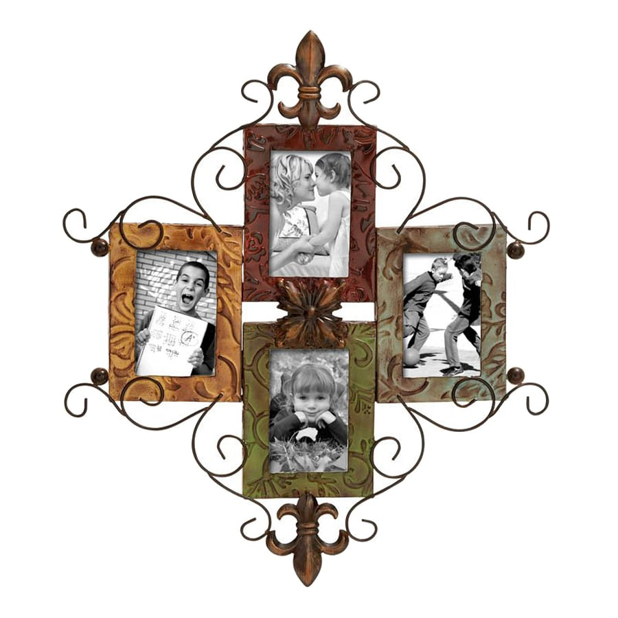 Shop woodland imports multi colored picture frame common 5 in x woodland imports multi colored picture frame common 5 in x 7 jeuxipadfo Image collections
