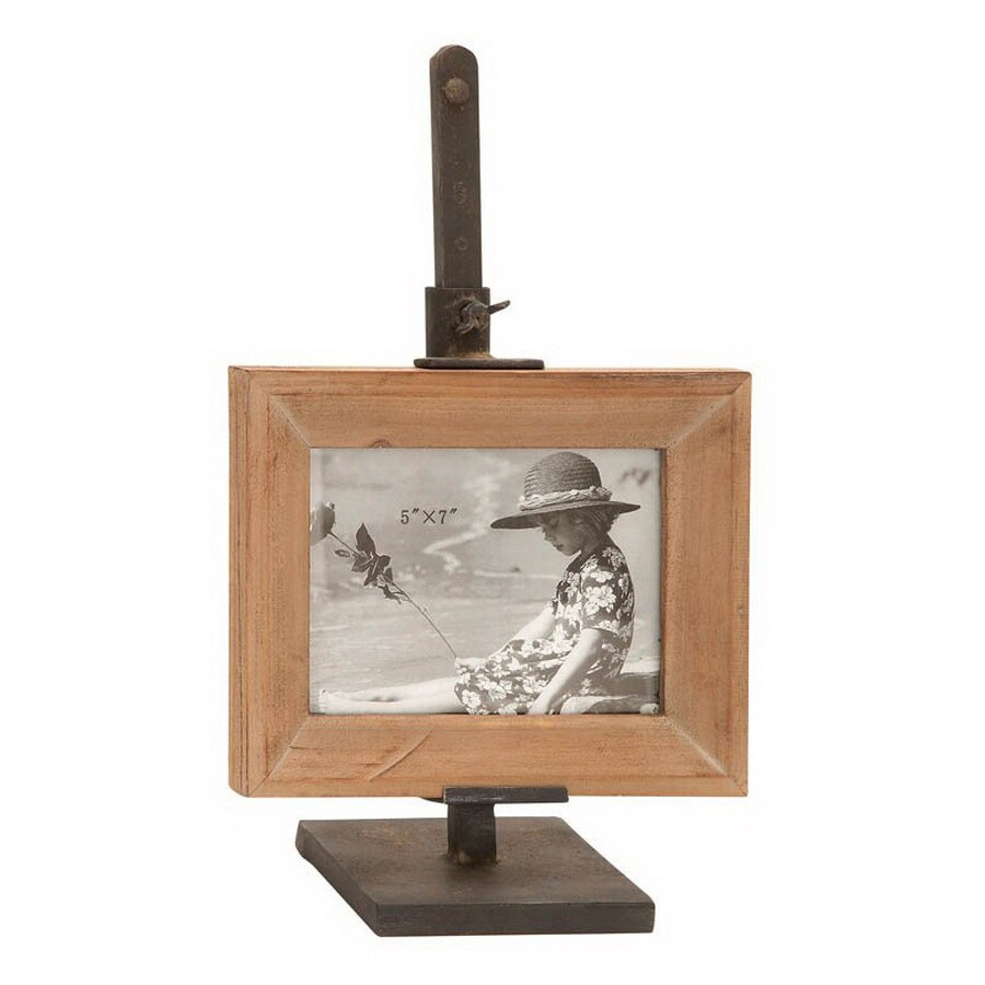 Woodland Imports Picture Frame (Actual: 6-in x 12-in)