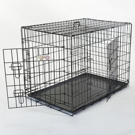 Wire Crates For Dogs   Pet Crates Carriers At Lowes Com
