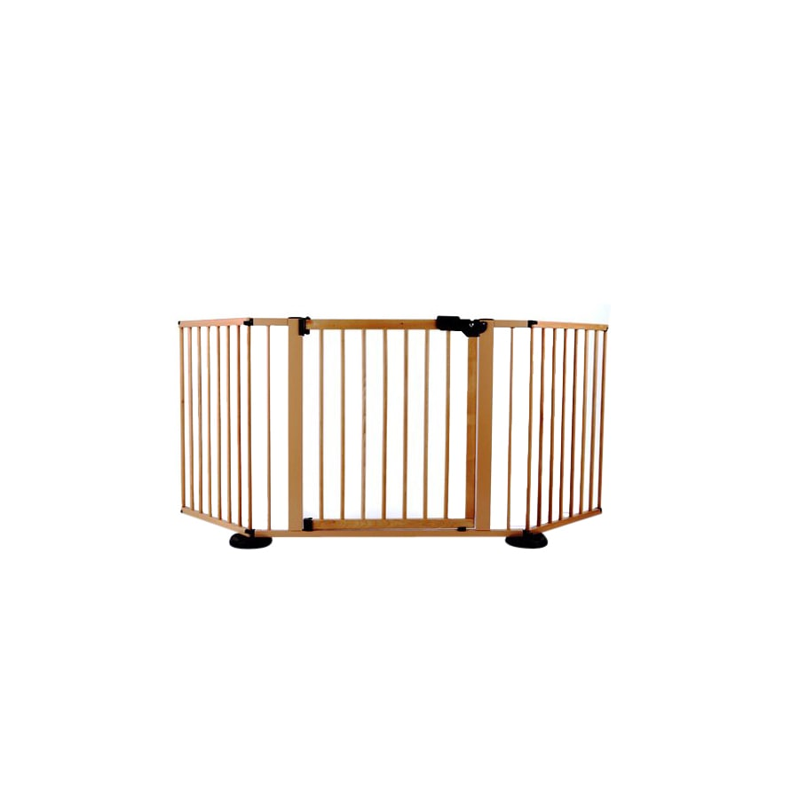 Cardinal Gates 40-in W Freestanding Metal Expandable Pet Gate
