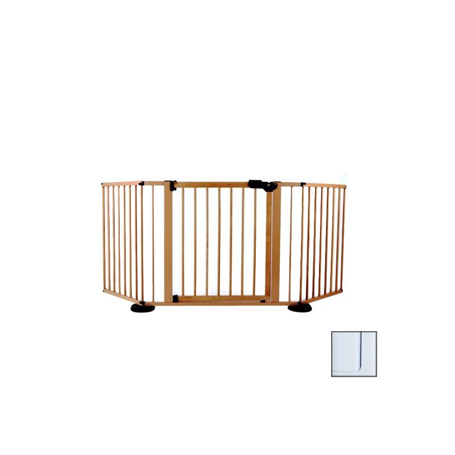 Cardinal Gates 40-in W Freestanding Metal Expandable Pet Gate