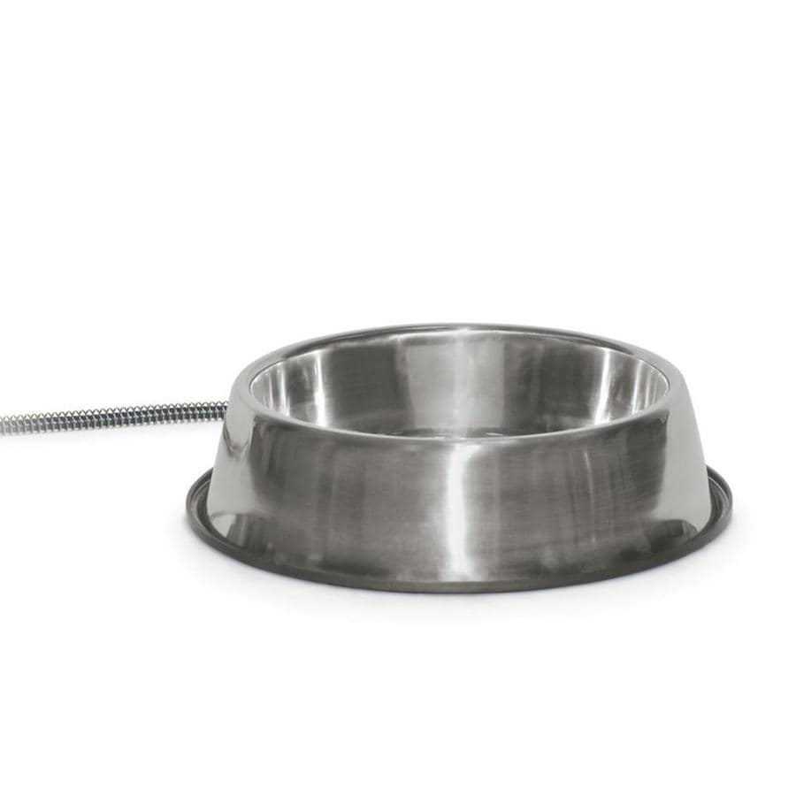 K&H Manufacturing Stainless Steel Dog Bowl