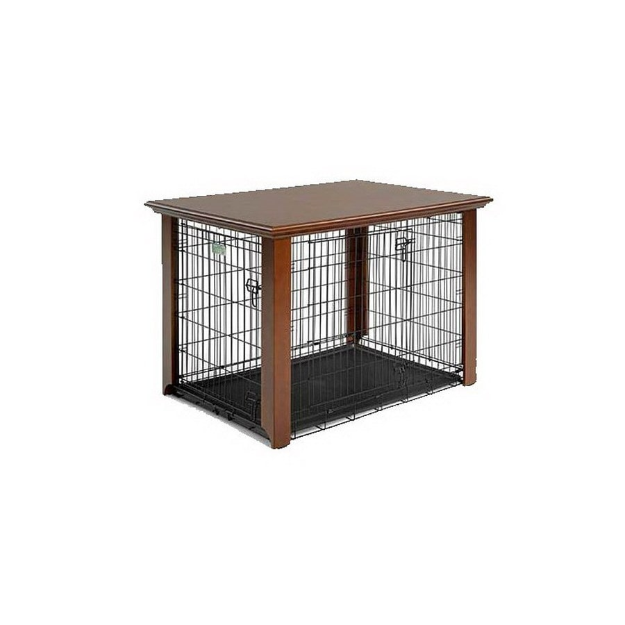 midwest pets 4-ft x 2.83-ft x 2.75-ft Cherry Plastic and Wire Pet