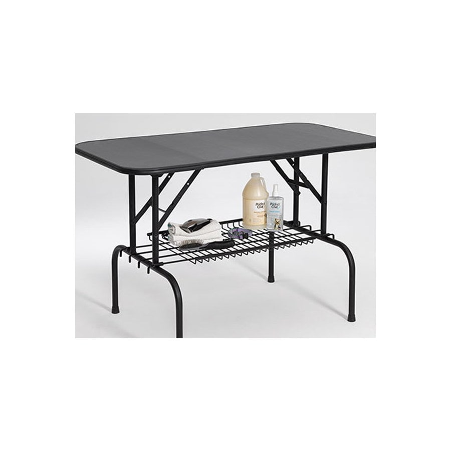 midwest pets Midwest Pets G3  Black Electro Coat Plywood 36Inch x 24Inch Grooming Table Dog Grooming Table
