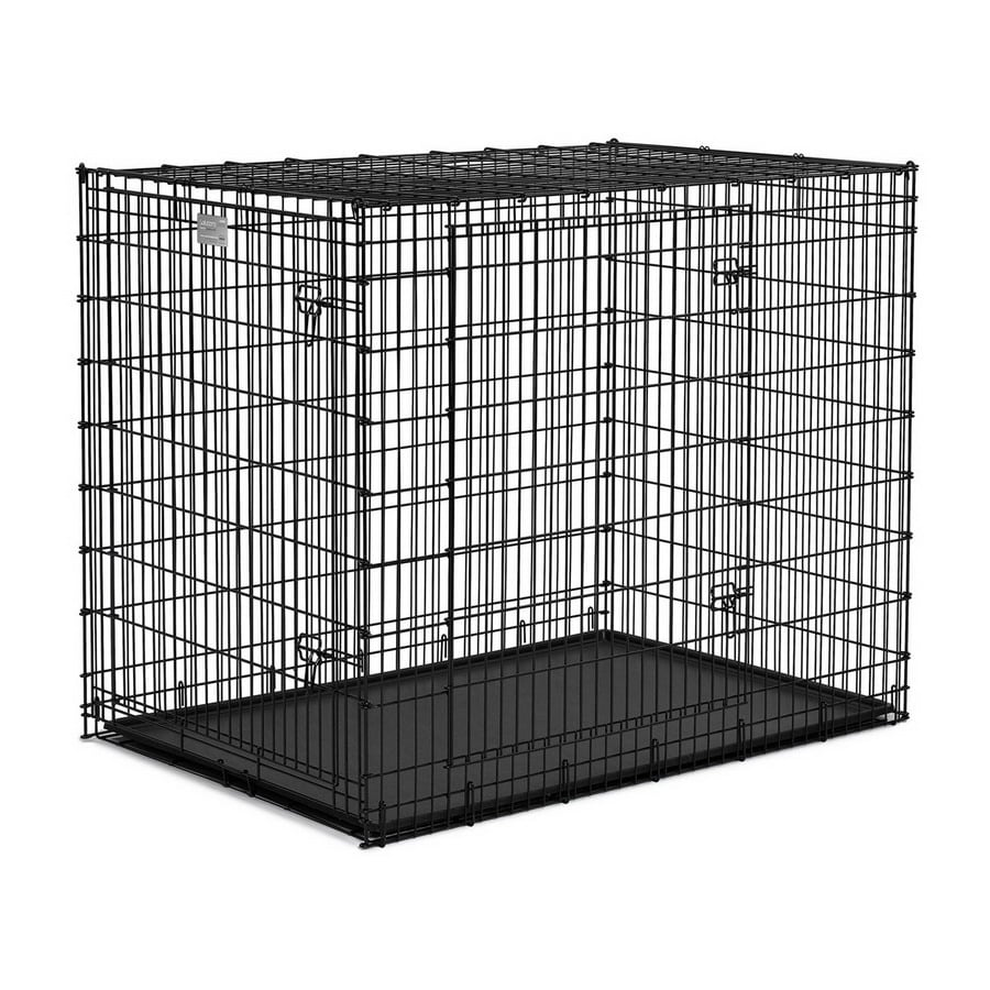 Shop midwest pets 4.5-ft x 3.08-ft x 3.75-ft Black Plastic and Wire ...
