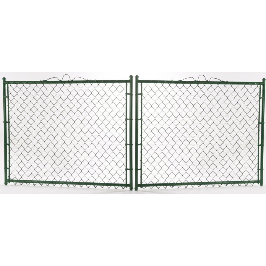 Shop Vinyl Coated Steel Chain Link Fence Gate Common 6