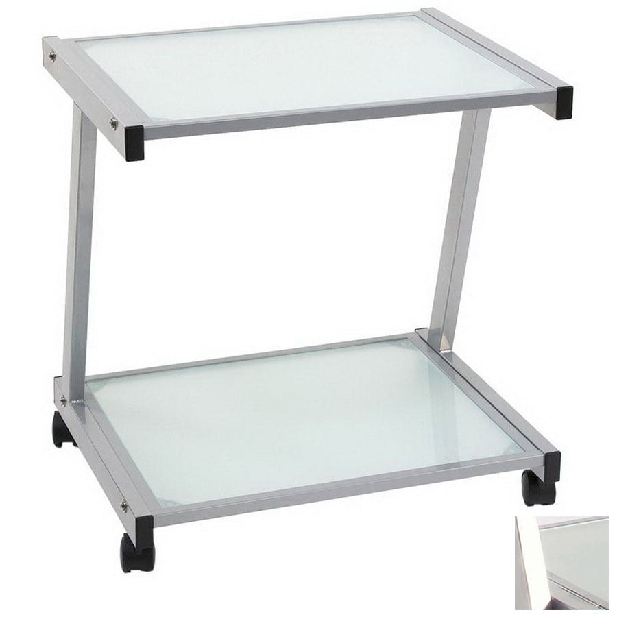 Shop Eurostyle 22 In Aluminum Printer Stand At Lowes Com
