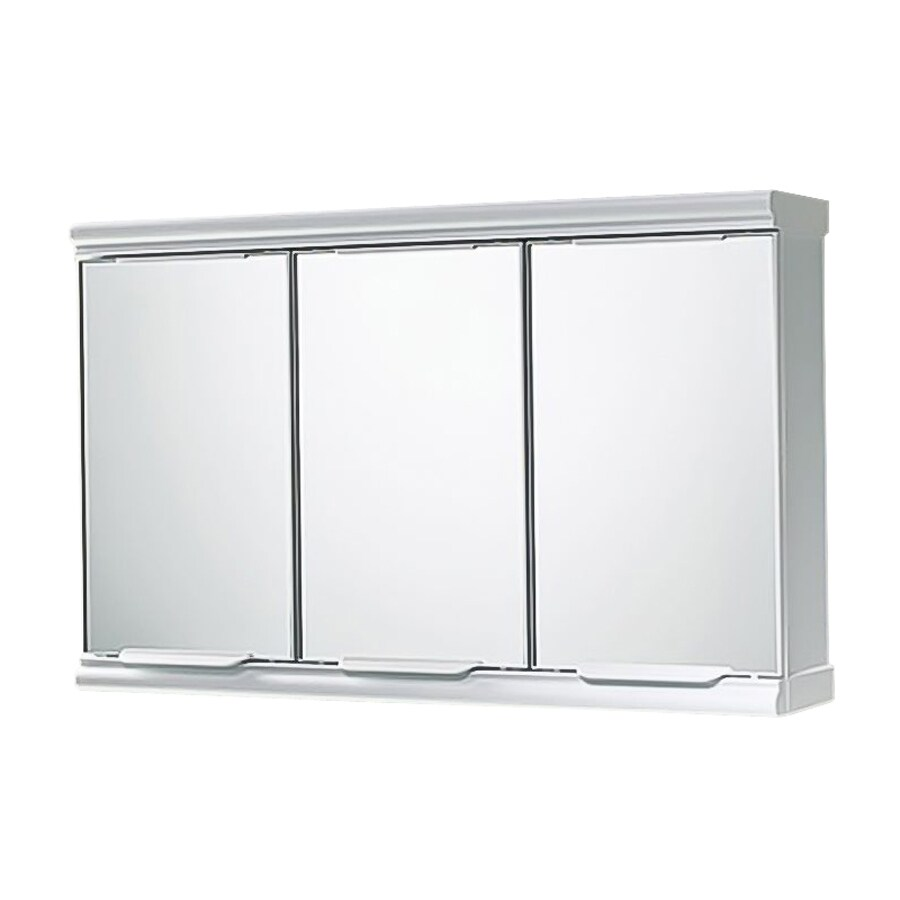 Nameeks Princess 23-in x 15-in Rectangle Surface Mirrored Composite Medicine Cabinet