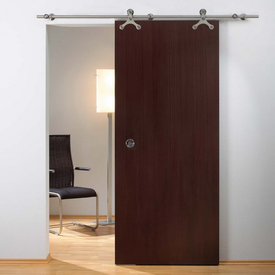 Pocket doors lowes roselawnlutheran cascadia 1 piece pocket door track and hardware kit vtopaller Gallery