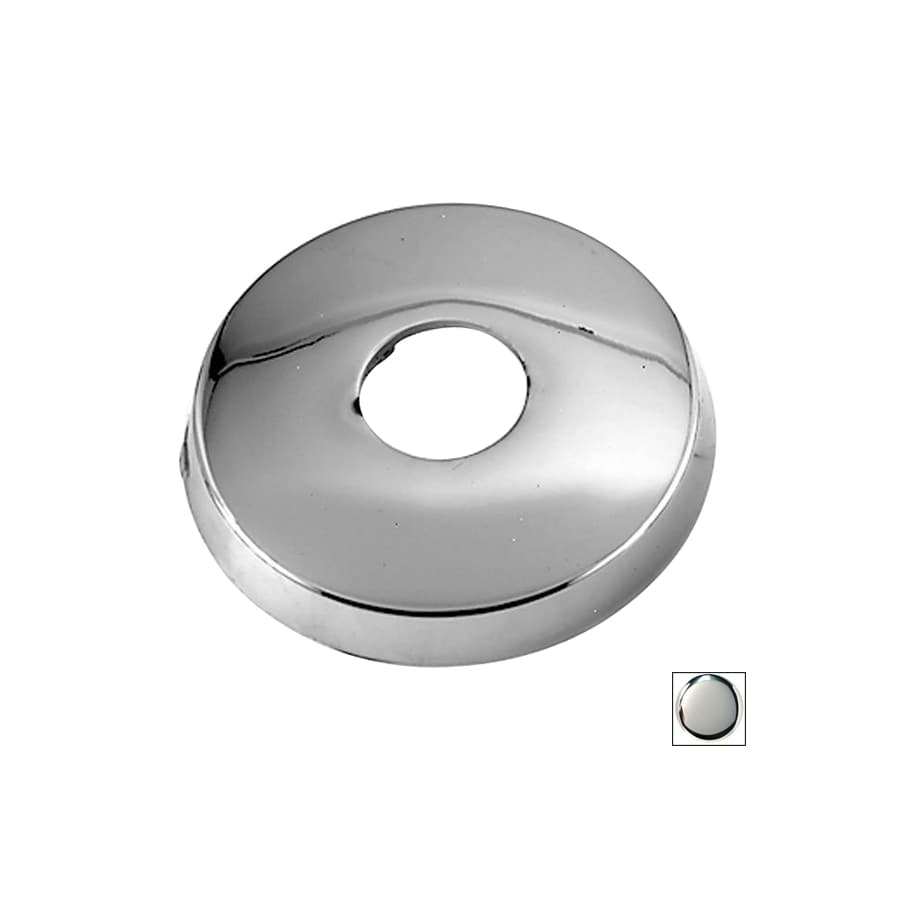 Westbrass Polished Chrome Shower Arm Mount