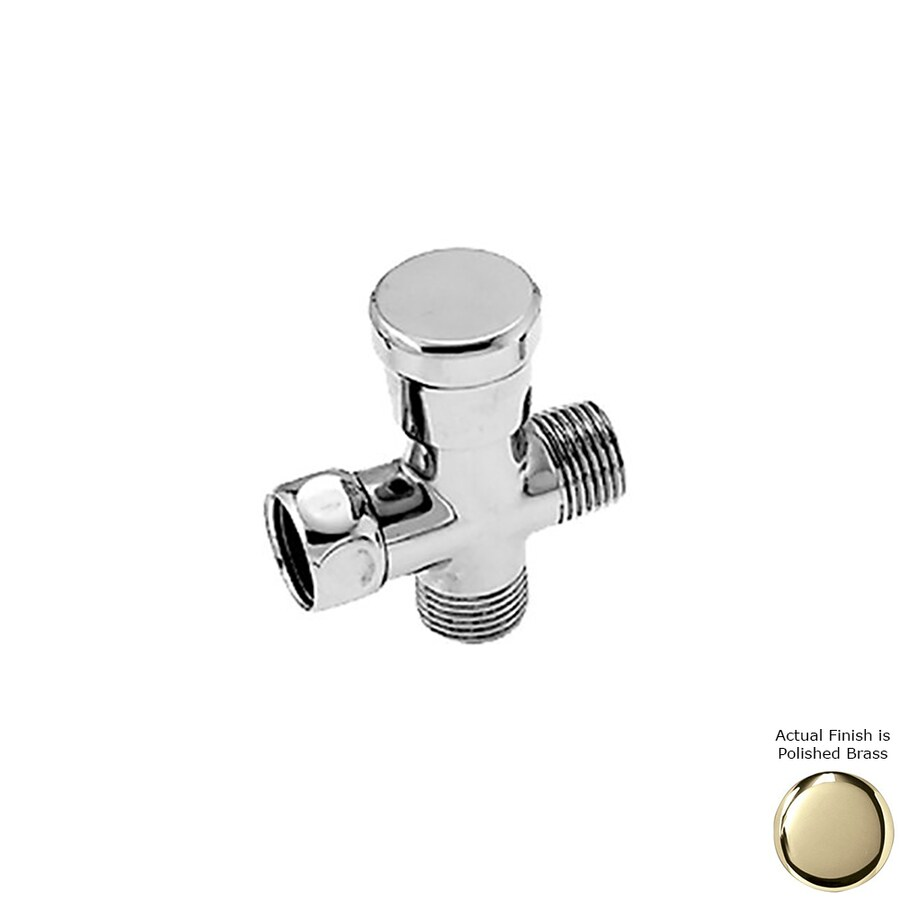 Westbrass Polished Brass Diverter