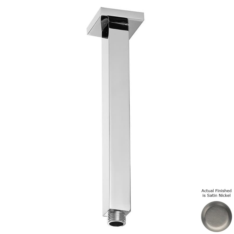 Westbrass Satin Nickel Shower Arm and Flange