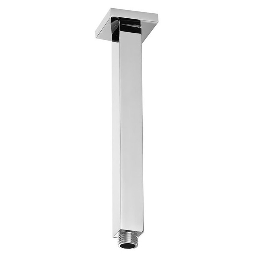 Westbrass Polished Chrome Shower Arm and Flange