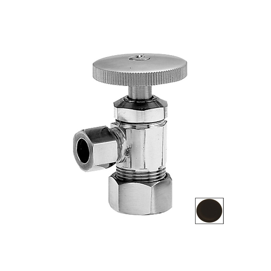 Westbrass Oil-Rubbed Bronze Angle Valve