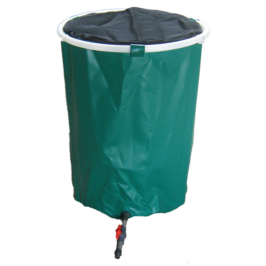 Shop Bosmere 50Gallon Green Plastic Rain Barrel at Lowescom