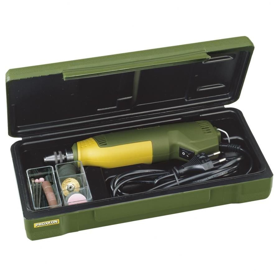 Proxxon 45-Piece Variable Speed  Multipurpose Rotary Tool Kit with Hard Case