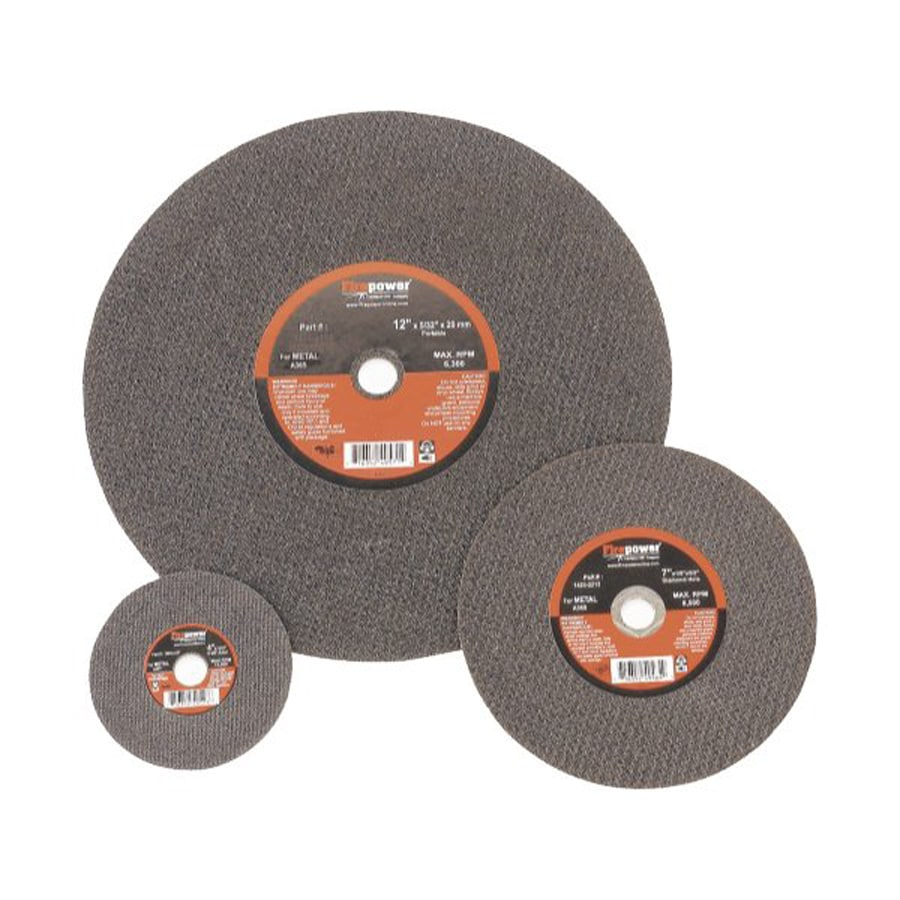 Firepower 5-Piece Aluminum Oxide 4-1/2-in Grinding Wheels