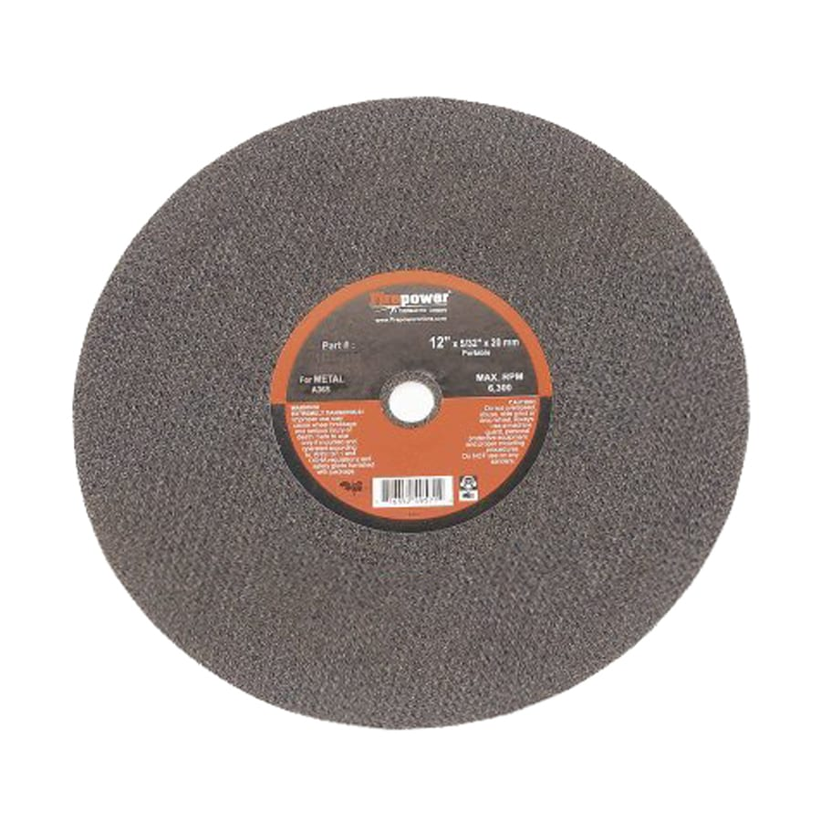 Firepower Aluminum Oxide 4-in Cutting Wheel