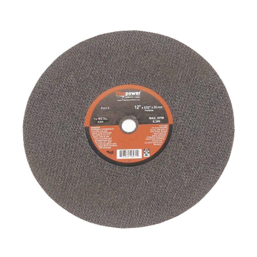 Firepower Aluminum Oxide 6-in Cutting Wheel