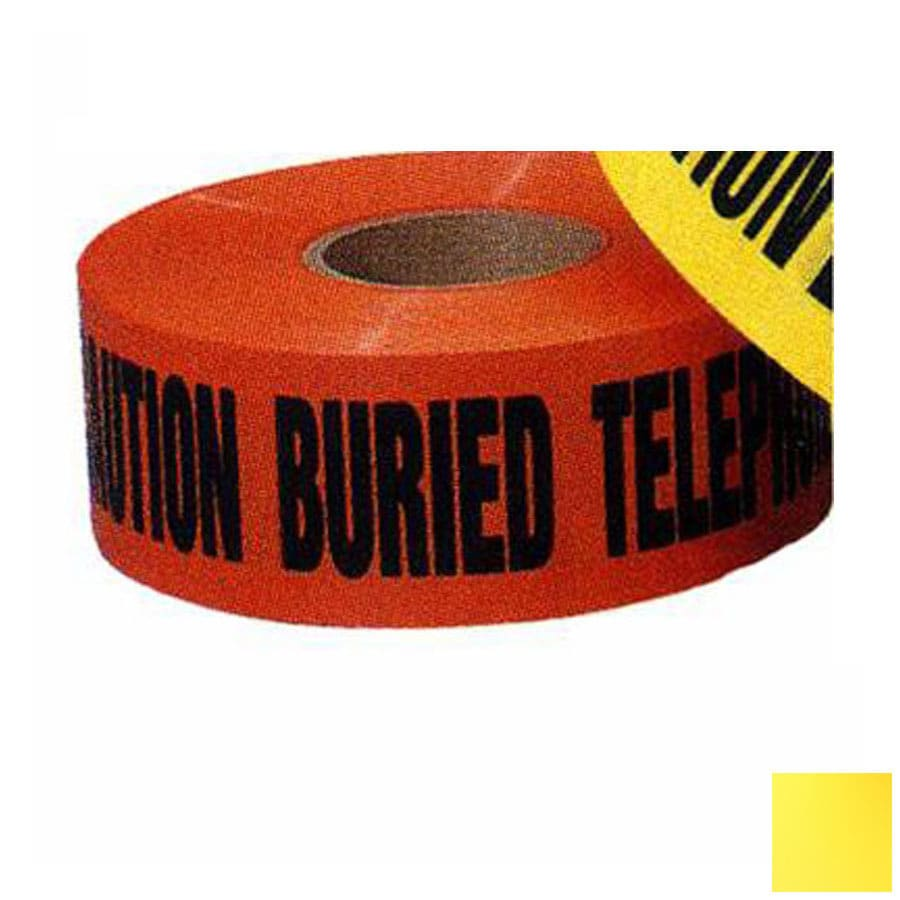 Morris Products 6-in x 1,000-ft Yellow Safety Tape