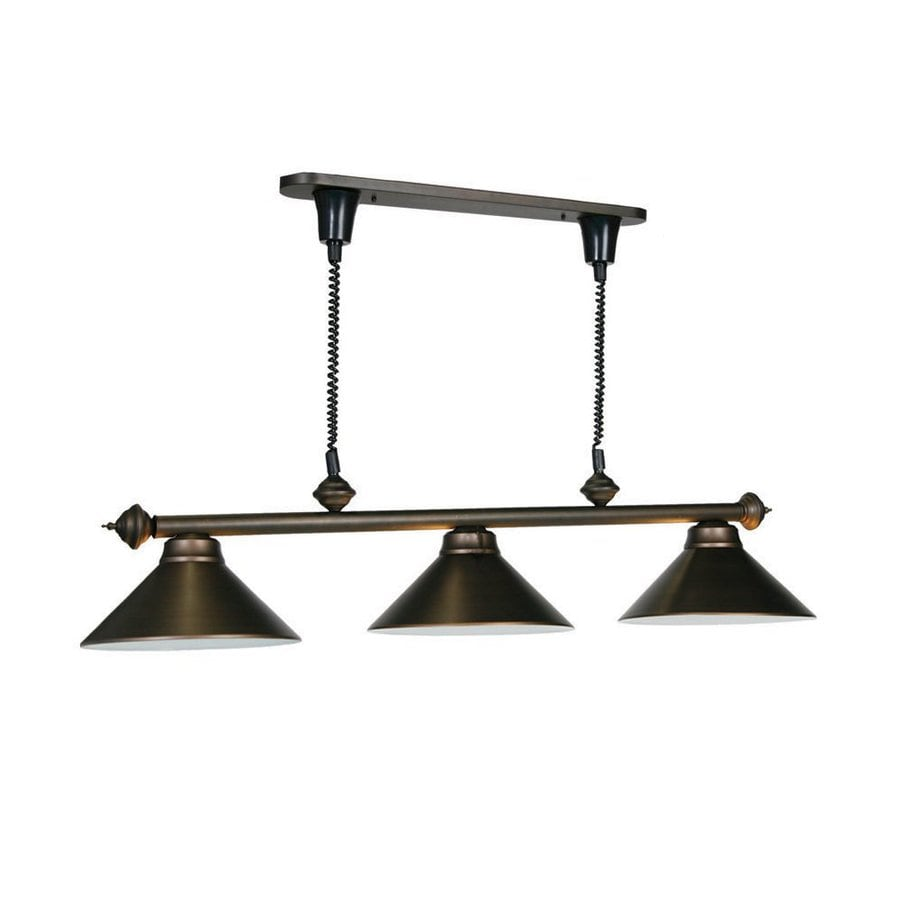 Ram Room Products Oil Rubbed Bronze Pool Table Lighting