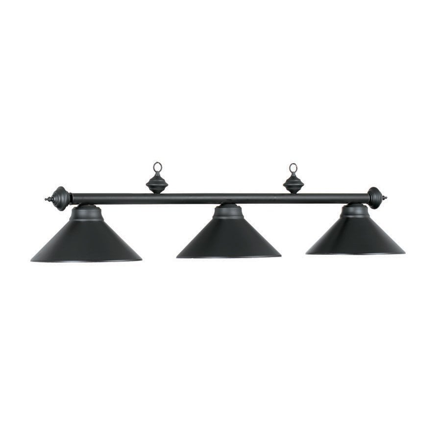 Pool Table Light Black: RAM Gameroom Products Matte Black Pool Table Lighting At