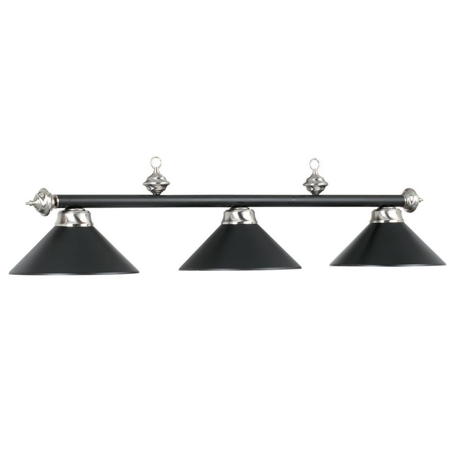 Pool Table Light Black: RAM Gameroom Products Matte Black/Stainless Steel Pool
