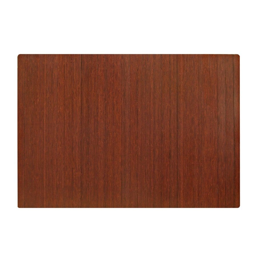 Anji Mountain Dark Cherry Chair Mat (Common: 4-Ft x 5-Ft; Actual: 48-in x 60-in)
