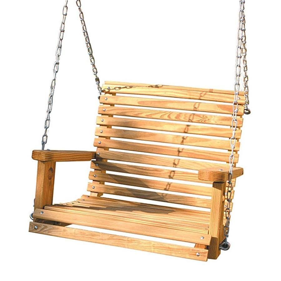 Gorilla Playsets Babysitter Natural Porch Swing