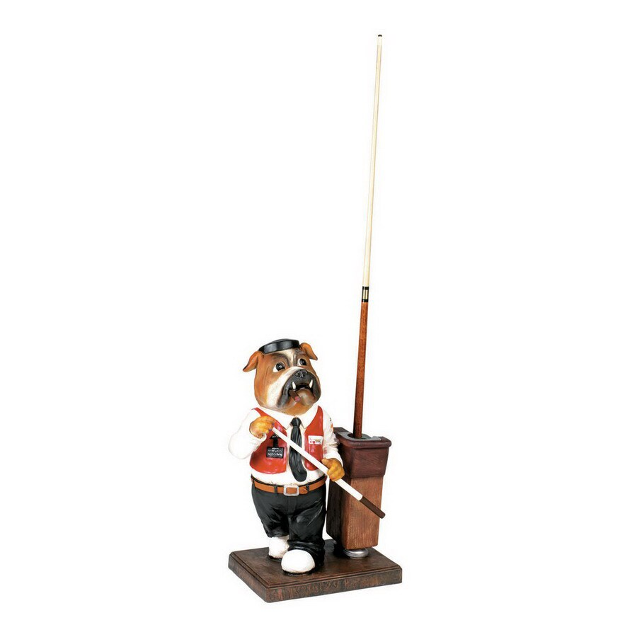 RAM Gameroom Products Bulldog 27-in Multicolor Pool Cue Rack