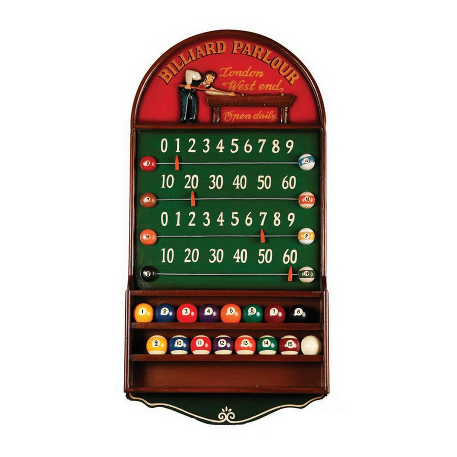 RAM Gameroom Products Billiard Parlour Scoreboard and Ball Holder