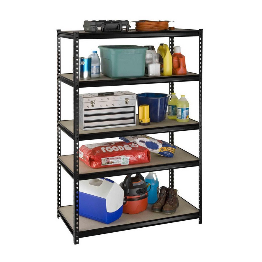 International Tool Storage 72-in H x 48-in W x 24-in D 5-Tier Steel Freestanding Shelving Unit
