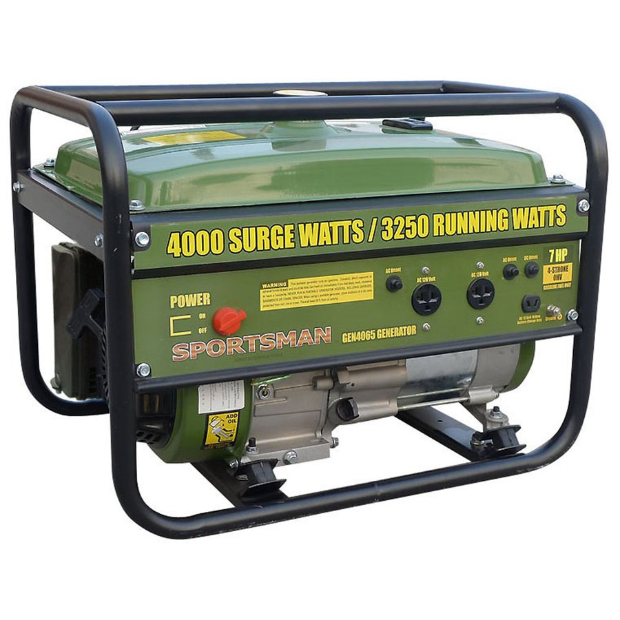 Buffalo Tools Sportsman 3250-Running Watts Portable Generator