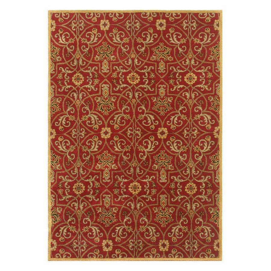 Jaipur Poeme 2-ft 6-in W x 8-ft L Multicolor Wool Runner