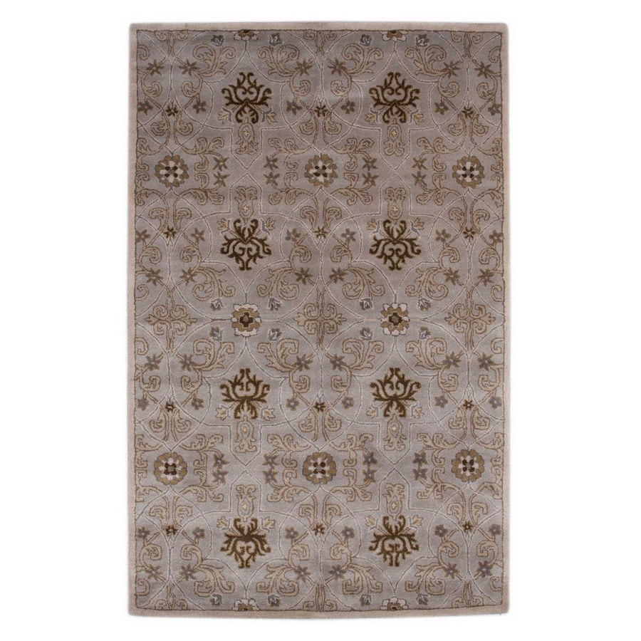 Jaipur Poeme 2-ft 6-in W x 8-ft L Multicolor Wool Runner