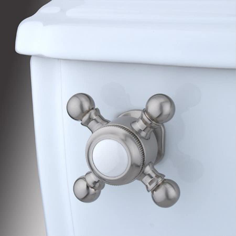 Elements of Design Buckingham Satin Nickel Toilet Handle