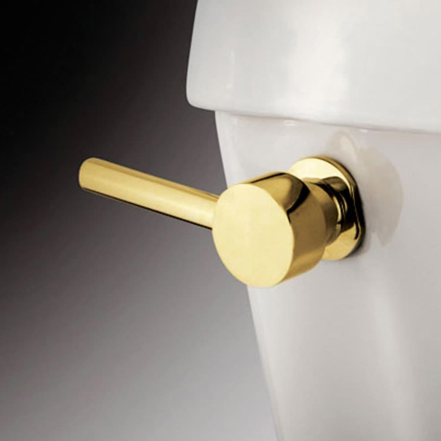 Elements of Design Nuvo Polished Brass Toilet Handle