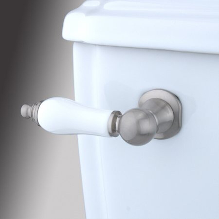 Elements of Design Victorian Satin Nickel Toilet Handle