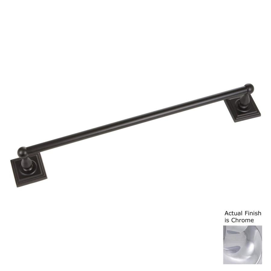 The Delaney Company 700 Series Chrome Single Towel Bar (Common: 24-in; Actual: 24-in)