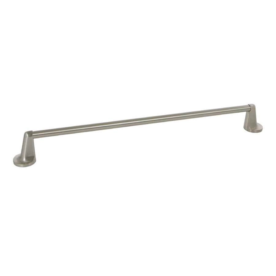 The Delaney Company 400 Series Satin Nickel Single Towel Bar (Common: 18-in; Actual: 18-in)