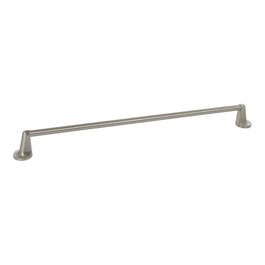 The Delaney Company 400 Series Satin Nickel Single Towel Bar (Common: 24-in; Actual: 24-in)