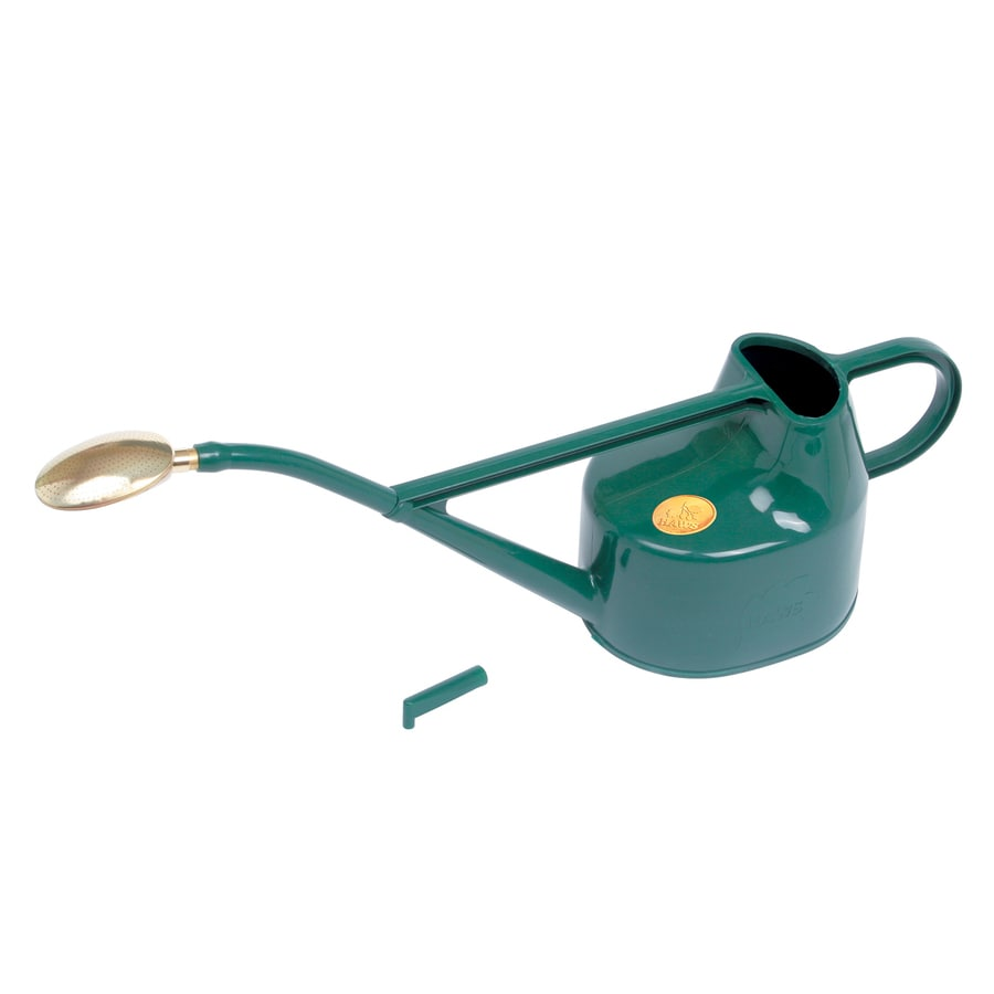 Bosmere 1.3-Gallon Green Plastic Deluxe Watering Can