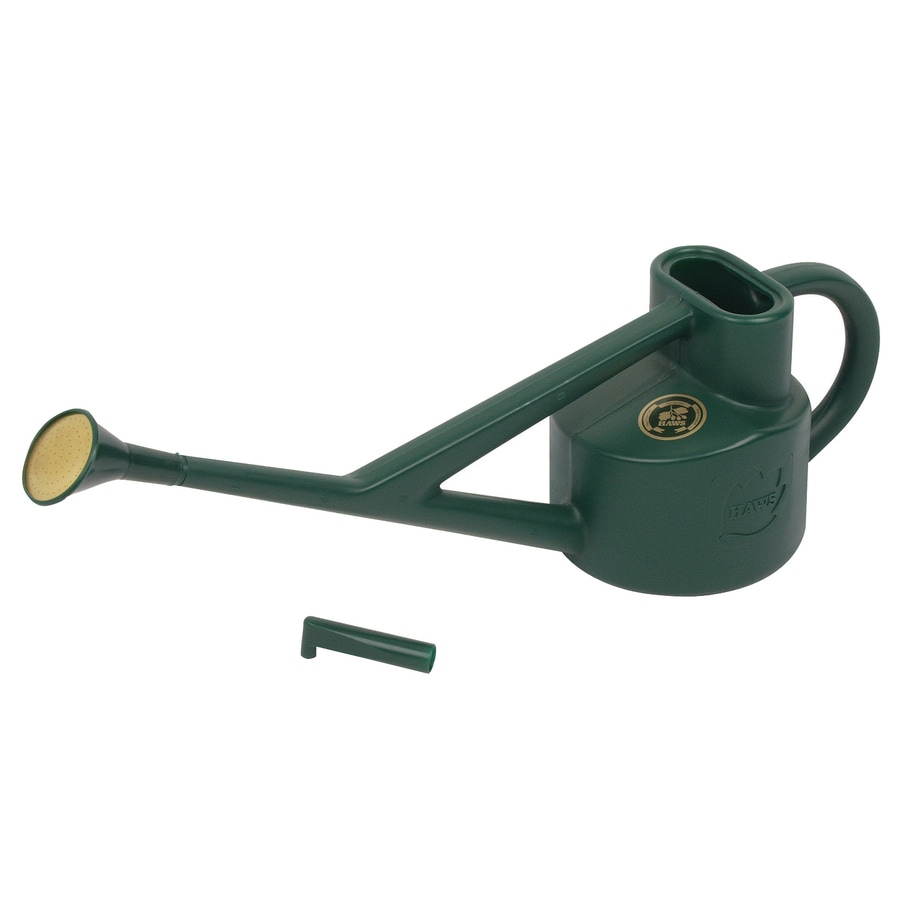 Bosmere 0.6-Gallon Green Plastic Conservatory Watering Can