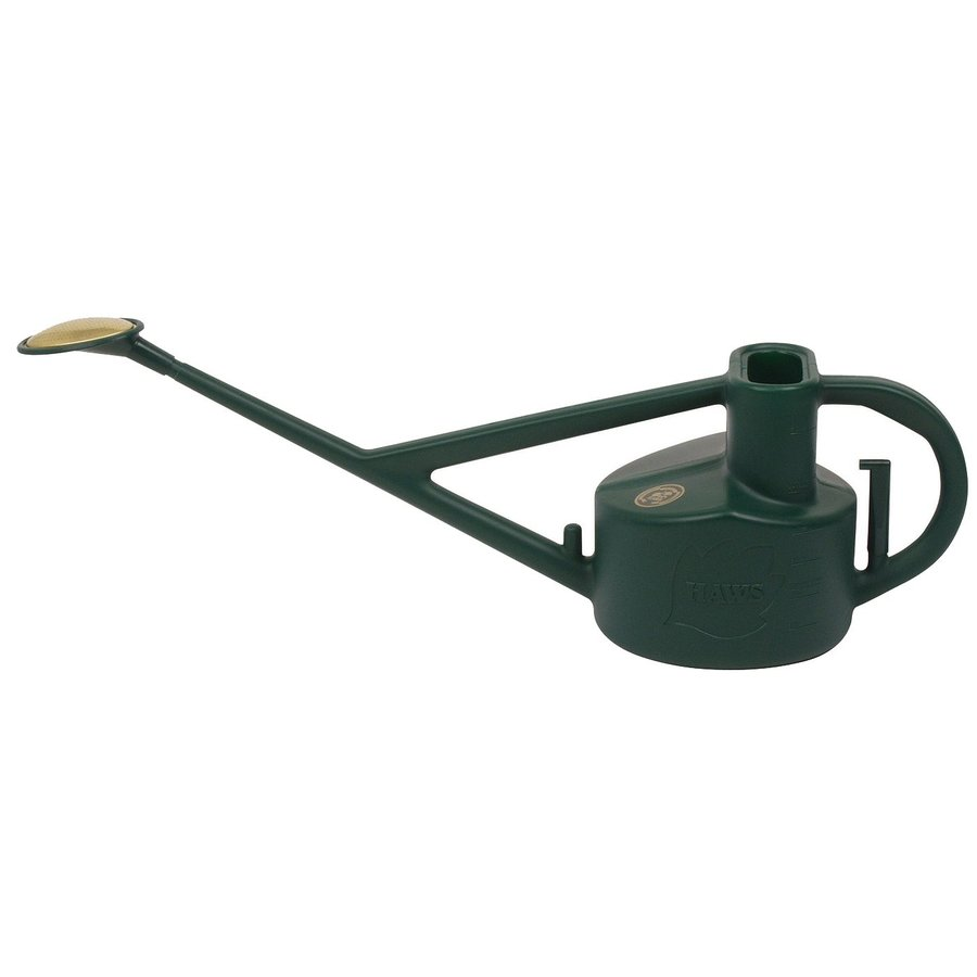 Bosmere Longreach 1.32-Gallon Green Plastic Watering Can